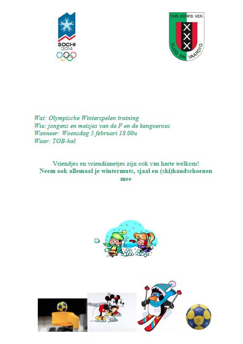 Olympische training